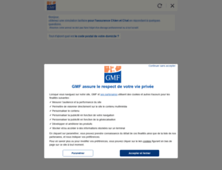 devis-assurance.gmf.fr screenshot