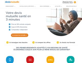 devismutuelle.com screenshot