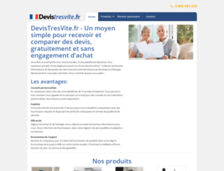 devistresvite.fr screenshot