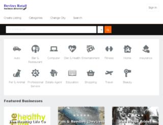 devizesretail.co.uk screenshot