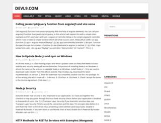 devl9.com screenshot