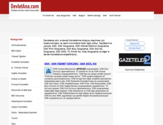 devletana.com screenshot
