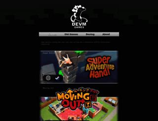 devm-games.com screenshot