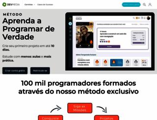 devmedia.com.br screenshot