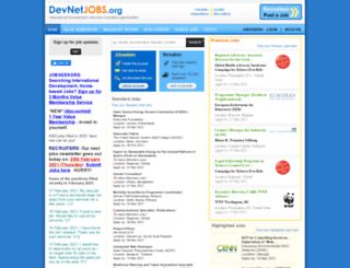 devnetjobs.net screenshot