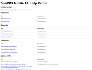 devnewapi.iconnectpos.com screenshot