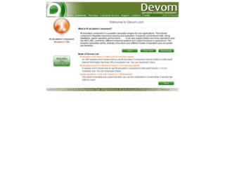 devom.com screenshot