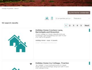 devon-travel.com screenshot