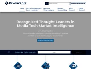 devoncroft.com screenshot