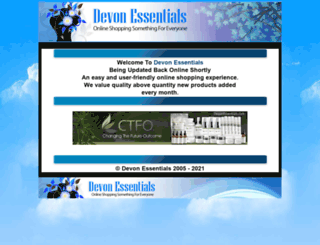 devonessentials.com screenshot