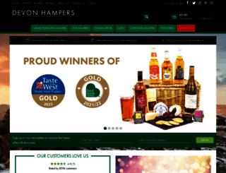 devonhampers.com screenshot