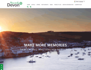 devonhotels.com screenshot