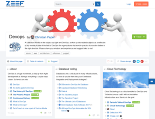 devops.zeef.com screenshot