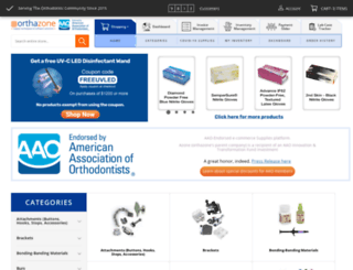 devortha.dentazone.com screenshot