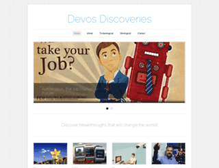 devosdiscovery.wordpress.com screenshot