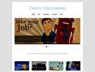 devosdiscovery.wordpress.com screenshot