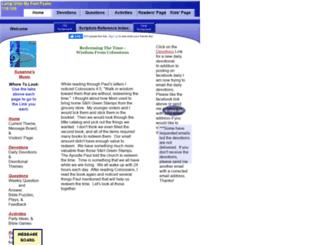 devotions.homestead.com screenshot