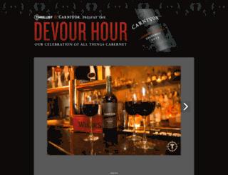 devourhournyc.splashthat.com screenshot