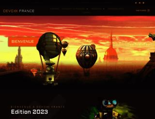 devoxx.fr screenshot