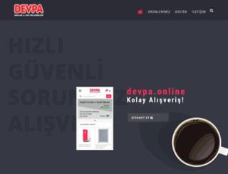 devpareklam.com screenshot