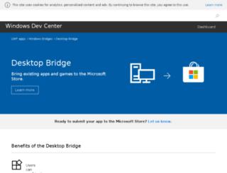 devpreviewsignup.windows.com screenshot