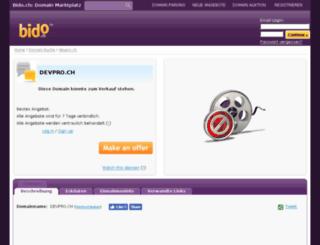 devpro.ch screenshot