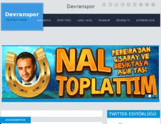 devranspor.com screenshot