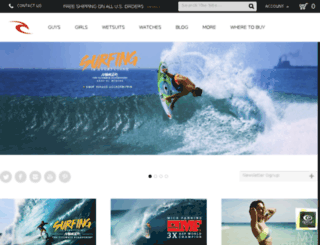 devripcurl.webcubecms.net screenshot