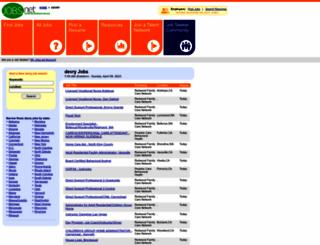 devry.jobs.net screenshot