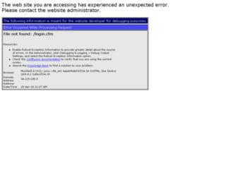 devsecure.transcendservice.com screenshot