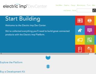devwiki.electricimp.com screenshot