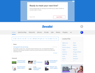 dewalist.com screenshot