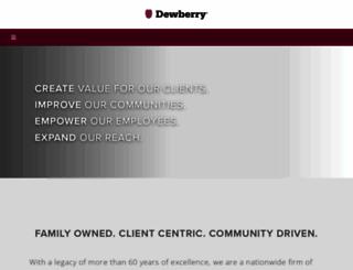 dewberry.com screenshot