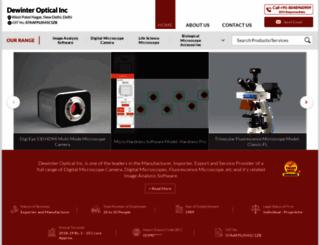 dewinterindia.com screenshot