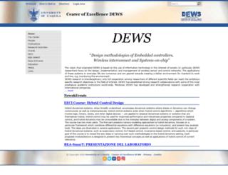 dews.univaq.it screenshot