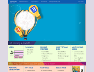dewsoftoverseas.com screenshot