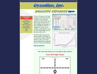dexadine.com screenshot