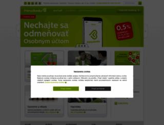 dexia.sk screenshot
