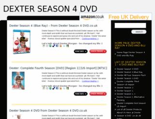 dexter-season-4-dvd.co.uk screenshot