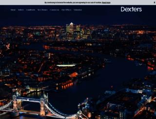 dexters.co.uk screenshot