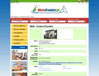 deza.biurokwater.pl screenshot