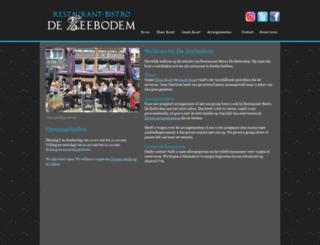 dezeebodem.nl screenshot