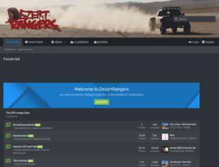 dezertrangers.com screenshot