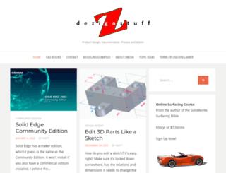 dezignstuff.com screenshot