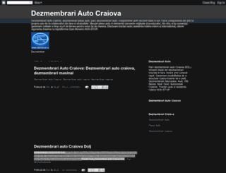 dezmembrari-auto-craiova.blogspot.com screenshot