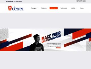 dezrez.com screenshot