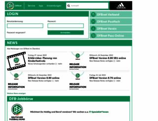 dfbnet.org screenshot
