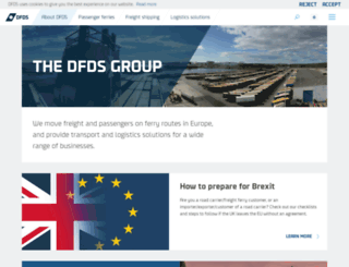 dfdsgroup.com screenshot