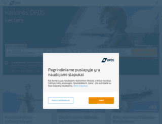 dfdsseaways.lt screenshot