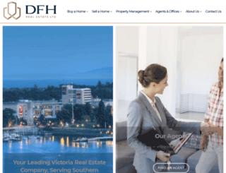 dfh.ca screenshot